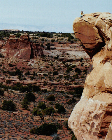 Laurie on a peak in Canyonlands.jpg